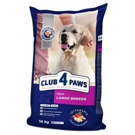 Club 4 Paws Large Breeds - Клуб 4 лапы сухой корм для собак крупных пород