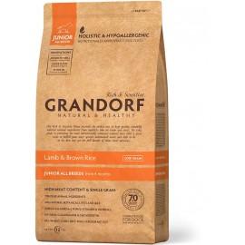 Grandorf Dog Lamb&Rice Junior - низкозерновой корм класса холистик для щенков (янгенок с рисом)