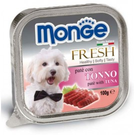 Monge Dog Fresh Tuna - паштет для собак с тунцом, 100г