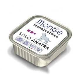 Monge Dog Solo Duck - монопротеиновый консервированный корм для собак с уткой, 150гр