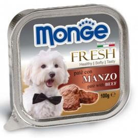 Monge Dog Fresh Beef - паштет для собак с говядиной, 100г