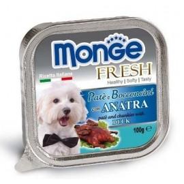 Monge Dog Fresh Duck - паштет для собак с уткой, 100г