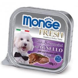 Monge Dog Fresh Lamb - паштет для собак с ягненком, 100г
