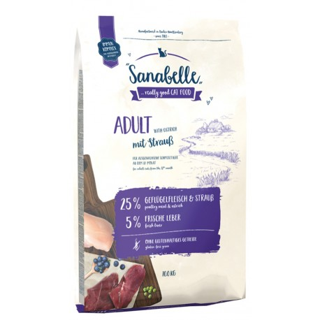 Bsoch Sanabelle Adult Ostrich (Санабелль Эдалт с мясом Страуса)