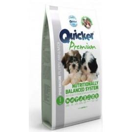 Quicker Premium Puppy Mini/Midi - корм для щенков мелких и средних пород с птицей и кукурузой