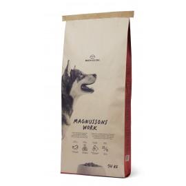 Magnussons Work - корм из свежей говядины для взрослых собак с высоким уровнем активности