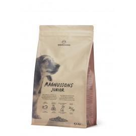 Magnussons Junior - корм из свежей говядины для щенков, молодых собак, беременных и кормящих сук
