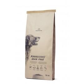 Magnussons Grain Free - беззерновой корм из свежей говядины для взрослых собак с нормальным уровнем активности
