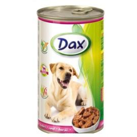 Dax for Dog - консерва для cобак с телятиной, кусочками, 1240г