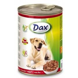 Dax for Dog - консерва для cобак с говядиной, кусочками, 1240г