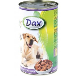 Dax for Dog - консерва для cобак с ягненком, кусочками, 1240г