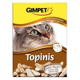 Gimpet Topinis - витаминные мышки для кошек - кролик (180шт)