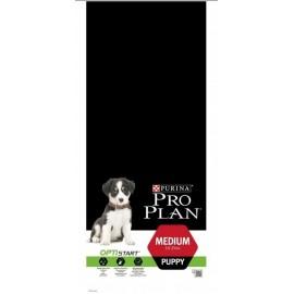 Pro Plan OptiStart Medium Puppy - для щенков средних пород (курица и рис)