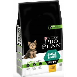 Pro Plan OptiStart Small & Mini Puppy - для щенков мелких пород (курица и рис)