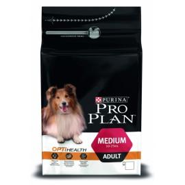 Pro Plan OptiHealth Medium - для взрослых собак средних пород (курица и рис)