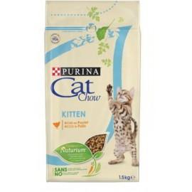Cat Chow Kitten с курицей