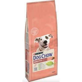 DOG CHOW Sensitive с лососем и рисом - для собак, склонных к аллергии