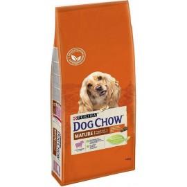 DOG CHOW MATURE LAMB - для пожилых собак с 5 до 9 лет (ягнёнок)