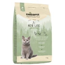 Chicopee Classic Nature Line New Life - корм для котят и беременных кошек