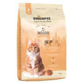 Chicopee Classic Nature Line Indoor - корм для домашних и стерилизованных котов с говядиной