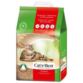 Cat's Best OKO Plus, древесный, комкующийся, 10л