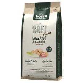Bosch Soft+ Mini Quail & Potato (Бош Софт+ Мини Перепелка и Картофель)