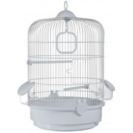 Клетка для птиц Voltrega 745B, белая, 0x32,5x48 см
