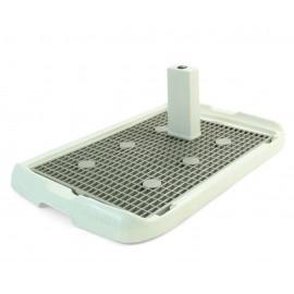 Triol PL001 Туалет для собак со столбиком, 700*470*40мм