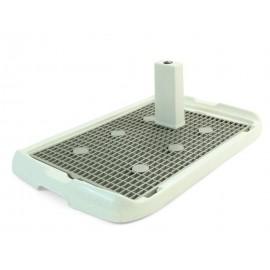 Triol PL002 Туалет для собак со столбиком, 600*400*40мм