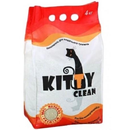 Наполнитель для кошачьего туалета Kitty Clean Premium, 5кг