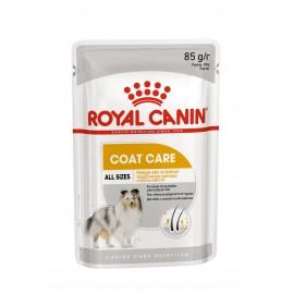 Royal Canin Coat Care Canin - паучи для красоты шерсти у собак (упаковка 12 штук по 85г)