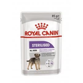 Royal Canin Sterilised Canine - паучи для стерилизованных/кастрированных собак в виде паштета (упаковка 12 штук по 85г)