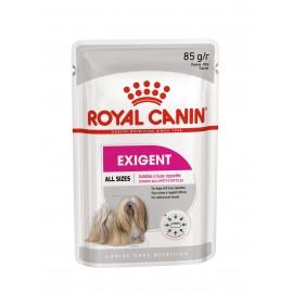 Royal Canin Exigent Care Canine - паучи для привередливых собак в виде паштета (упаковка 12 штук по 85г)