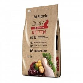 Fitmin Сat Purity Kitten - беззерновой корм для котят до 12 месяцев
