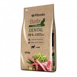 Fitmin cat Purity Dental - беззерновой корм для взрослых кошек, способствующих здоровью полости рта