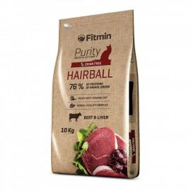 Fitmin Cat Purity Hairball - беззерновой корм для взрослых длинношерстных кошек