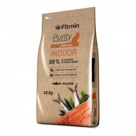 Fitmin Cat Purity Indoor - беззерновой корм для взрослых кошек, живущих в помещении