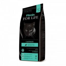Fitmin Cat For Life Castrate - корм для взрослых котов с избыточным весом или стерилизованных
