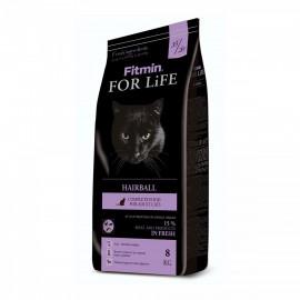 Fitmin Cat For Life Hairball - корм для взрослых длинношерстных кошек