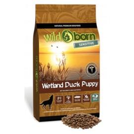 Wildborn Wetland Duck Puppy Sensitive - беззерновой корм для всех пород щенков и молодых собак, утка и картофель