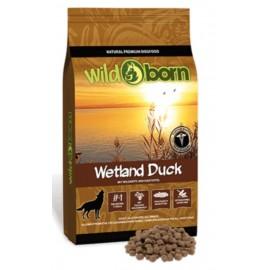 Wildborn Wetland Duck Adult - беззерновой кора для собак, утка, картофель, фрукты, травы