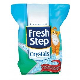 Fresh Step Crystals - наполнитель впитывающий, силикагель для кошек