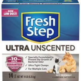 Fresh Step Clumping Ultra Unscented - комкующийся наполнитель без запаха