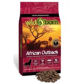 Wildborn African Outback- беззерновой корм для собак с мясом страуса, картофелем, фруктами, лекарственными травами