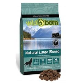 Wildborn Natural Large Breed - беззерновые корма для крупных собак с курицей, уткой, индейкой, сладким картофелем и тапиокой