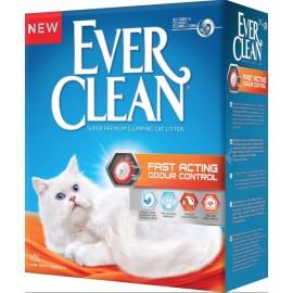 Ever Clean Fast Acting - Комкующийся наполнитель для кошек с мгновенным контролем запаха, 10л