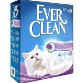 Ever Clean Lavander - наполнитель комкующийся для кошек с ароматом лаванды, 10л