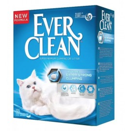 Ever Clean Extra Strong Clumping Unscented - наполнитель комкующийся без ароматизатора, 10л