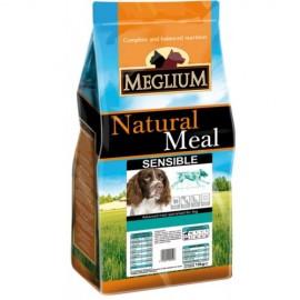 Meglium Sensible Fish & Rice - для взрослых собак всех пород с чувствительным пищеварением с рыбой