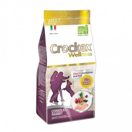 Crockex Dog Adult Mini Rabbit & Rice - для взрослых собак мелких пород с кроликом и рисом